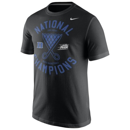 Duke Blue Devils Nike 2015 NCAA Men's Basketball National Champions Locker Room T-Shirt - Black - S