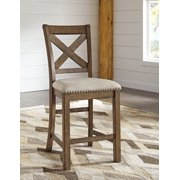 "Moriville 24"" Bar Stool Set of 2 by Ashley Furniture"