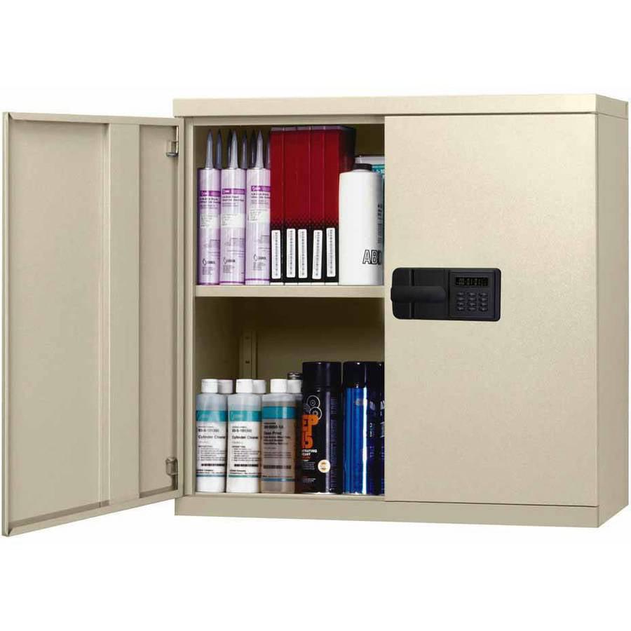 Sandusky 30L x 12D x 30H Steel Wall Cabinet, Putty