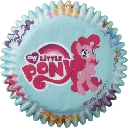 My Little Pony Cupcake Liners 50 Count](My Little Pony Cupcake Toppers)