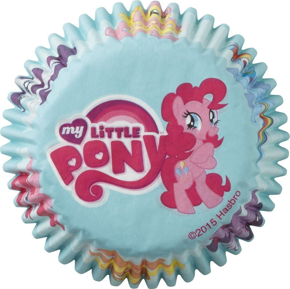 My Little Pony Cupcake Liners 50 Count