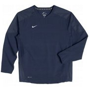Nike nk453353 419 L Dri Fit Blue Pullover Baseball Football (Large)