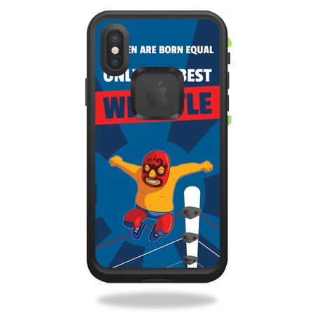 Skin For LifeProof FRĒ iPhone X - Best Wrestle | Protective, Durable, and Unique Vinyl Decal wrap cover | Easy To Apply, Remove, and Change