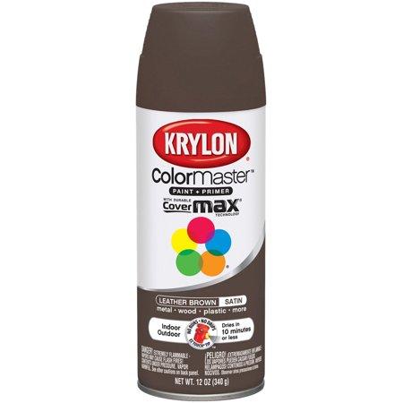 Colormaster Indoor/Outdoor Aerosol Paint 12oz-Leather Brown
