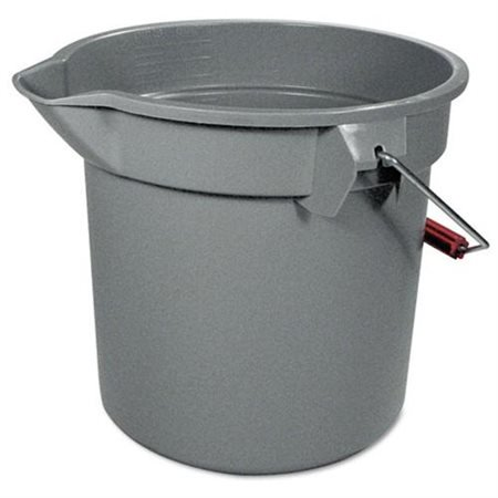 - Rubbermaid Commercial 14 Quart Round Utility Bucket, 12