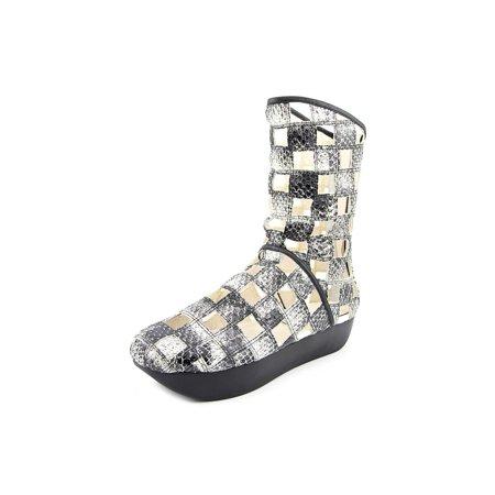 461f574f881be Camilla Skovgaard - Camilla Skovgaard Block Cut Snakeskin Flat Boot ...
