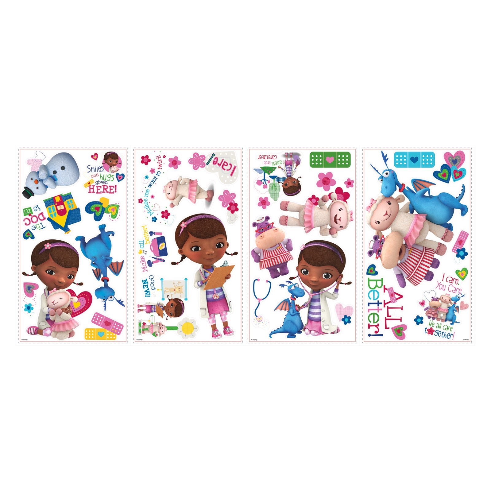 Doc McStuffins Peel and Stick Wall Decals