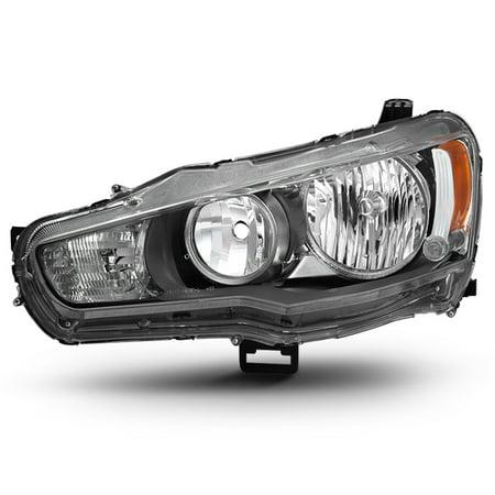 Fit 2008-2017 Lancer 08-15 Evolution EVO X Driver Side Headlight (Lancer Headlamp)