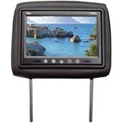 "Tview T721PLBK 7"" Black TFT LCD Monitor in headrest IR trans"