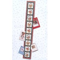 """Club Pack Of 144 Woodland Santa Claus Christmas Greeting Card Holders 42"""""""