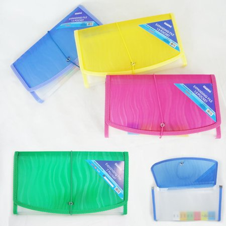 - 7 Pocket Coupon Organizer Holder Binder Expanding File Wallet Organizer Carrier