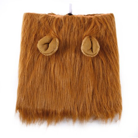Pet Costume Dog Lion Wigs Mane Hair Scarf Clothes Festival Party Halloween - Walking On The Street Halloween