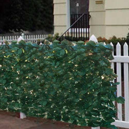 """Faux Ivy Privacy Fence Screen 94"""" X 59"""" Artificial Hedge Fencing Outdoor Decor"""