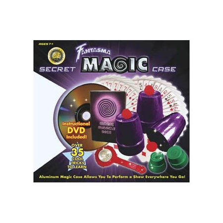 2008 Secret Magic Case DVD 50+ Tricks Multi-Colored