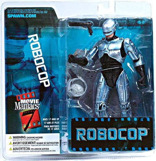 McFarlane Movie Maniacs Series 7 Robocop Action Figure