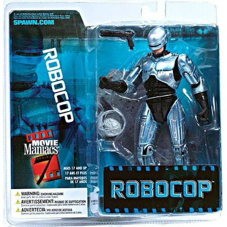 McFarlane Movie Maniacs Series 7 Robocop Action - Mcfarlane Toys Movie Maniacs Halloween