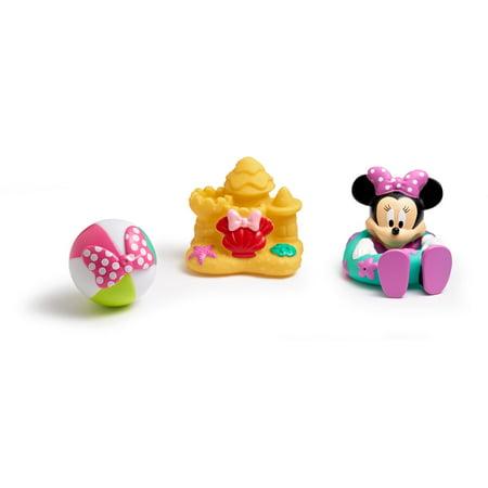 Disney Minnie Mouse Squirtee Toys 3pk