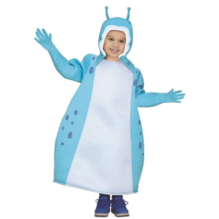 Toddler Boys Blue Beat Bugs Walter Costume Tunic & Gloves