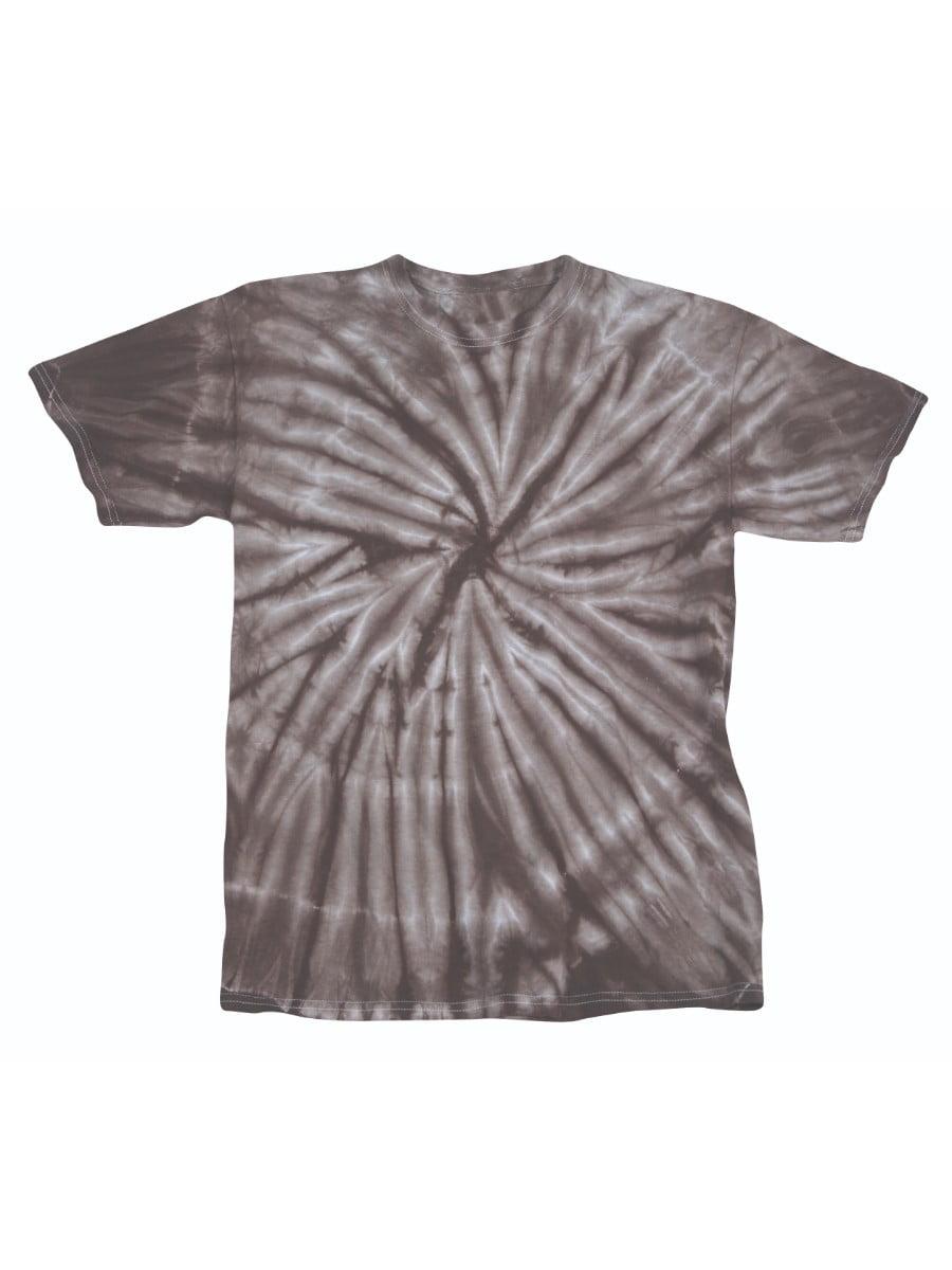 Faded Cyclone Pattern Youth Unisex Big Boys Big Girls Tie Dye T-Shirt Tee