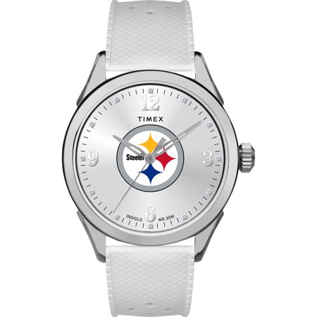 Pittsburgh Steelers Watch - Timex - NFL Tribute Collection Athena Women's Watch, Pittsburgh Steelers
