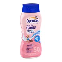 Coppertone Water Babies Pure & Simple Sunscreen SPF 50, 8 Fl Oz