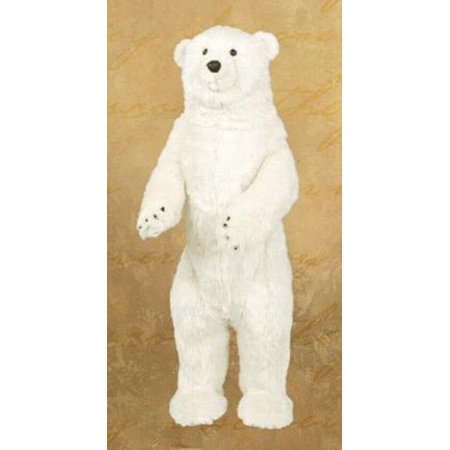 36 Large Standing Plush Polar Bear Stuffed Animal Walmart Com