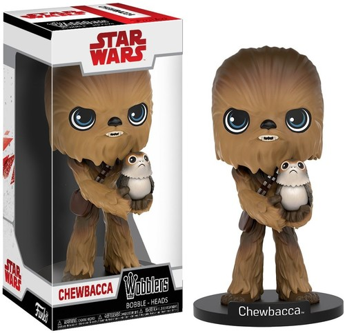 FUNKO WOBBLER: STAR WARS EP8 - THE LAST JEDI - CHEWBACCA