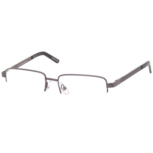 Foster Grant Carbon Fiber Metal Reading Glasses, Ashton Gunmetal