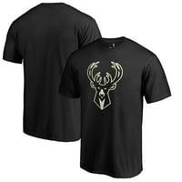 Milwaukee Bucks Fanatics Branded Taylor T-Shirt - Black