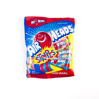 Airheads, Mini Assorted Fruity Chewy Candy Bar, 12 Oz