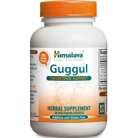 Himalaya Herbals Organic Guggul for Cholesterol & Thyroid Support, 720mg, 60 Ct
