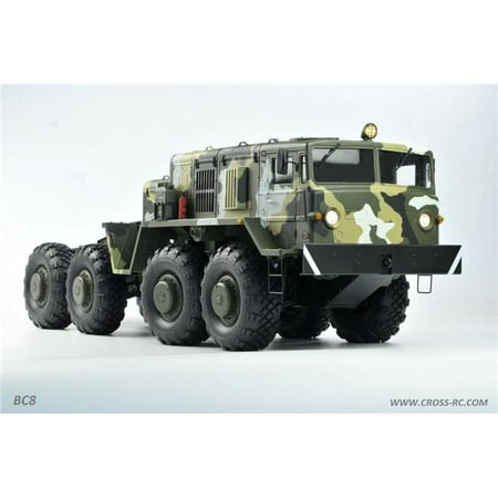 Cross RC BC8 Mammoth 1/12 Scale 8x8 Off Road Military Truck Kit-Flagship