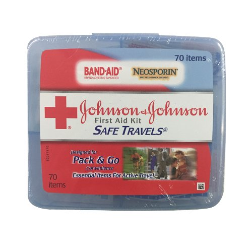 Red Cross Safe Travels First Aid Kit-70 ct, Ship from America