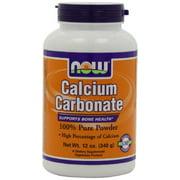 Now Foods Calcium Carbonate Pwd  12 Oz (2 Pack)