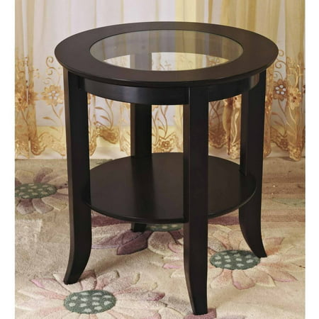 Home Craft Wood Genoa End Table ()