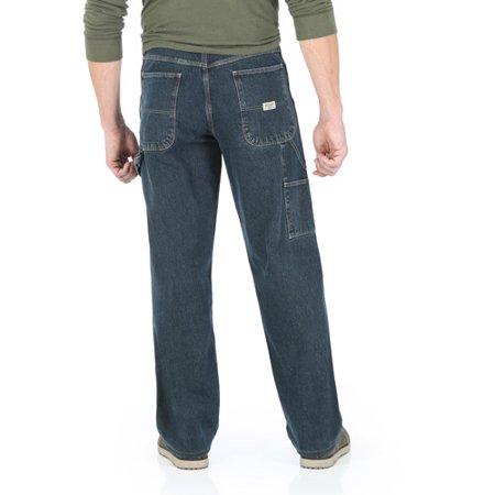b51cf455 Wrangler - Wrangler Men's Straight Leg Carpenter Jean - Walmart.com