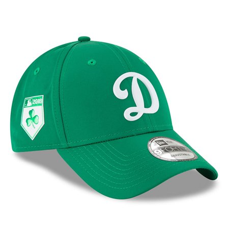 Los Angeles Dodgers New Era 2018 St. Patrick's Day Prolight 9FORTY Adjustable Hat - Green - OSFA](St Patricks Hats)