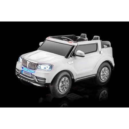 Sportrax Special Edition Bmw Style Baja 4Wd Kids Ride On Car  Battery Powered  Remote Control  W Free Mp3 Player   White