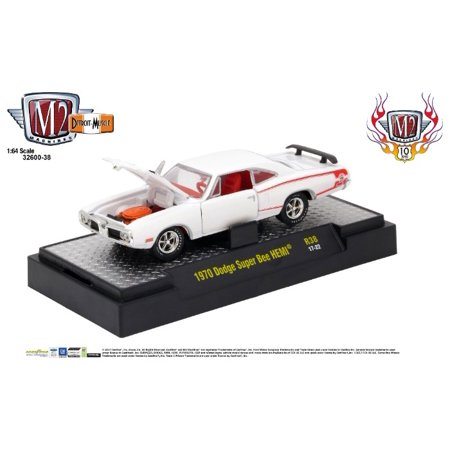 M2 Machines 1:64 Detroit Muscle Release 38 1970 Dodge Super Bee Hemi