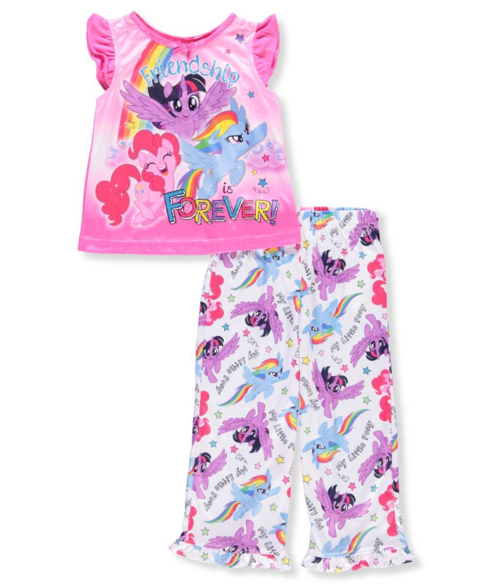 My Little Pony Girls' 2-Piece Pajamas