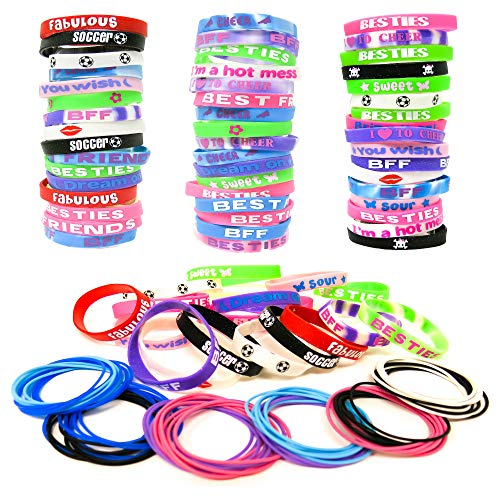 40 Pieces Christmas Wristband Silicone Rubber Band Bracelets for Christmas Party Decoration,Gift for Kids Adults,Holiday Decoration WristBand Party Supplies Favors,Christmas Bands Print Craft with Santa,snowflake,Elk,Assorted Patterns