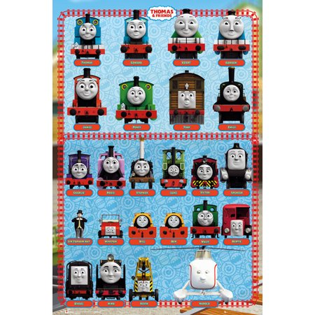Thomas And Friends Characters Poster Print (24 x 36) ()