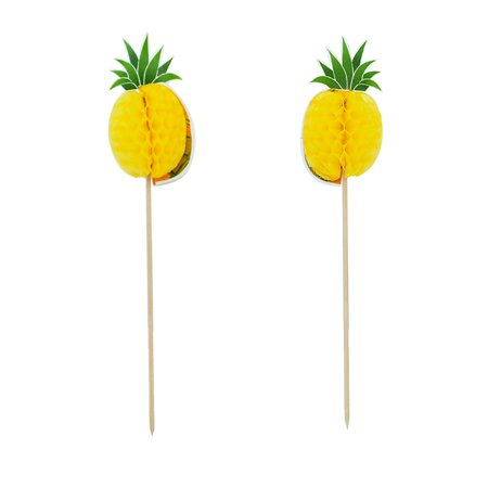 Cocktail Party Games ((Pack of 30) Aspire Pineapple Flamingo Summer Umbrella Pitaya Pirate Cocktail Sticks, Cupcake Toppers, Party Decoration, Halloween Christmas Party)