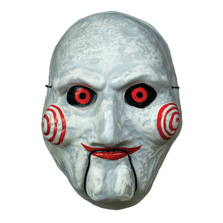 Trick Or Treat Studios Billy Puppet - Vacuform Halloween Costume Mask (Halloween Trick Or Treat New York)