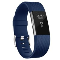 Vancle for Fitbit Charge 2 Bands Band Replacement Small Large Silicone Classic 10-Pack, Small