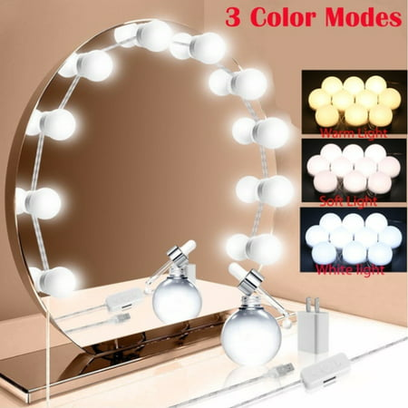 LuckyFine Hollywood DIY Vanity Lights Strip Kit for ...