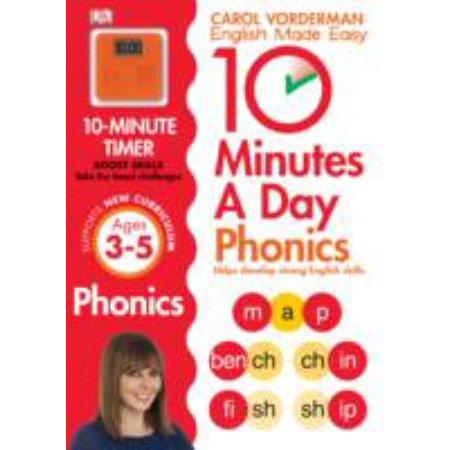 10 Minutes A Day Phonics Ks1  English Made Easy Ks1   Paperback