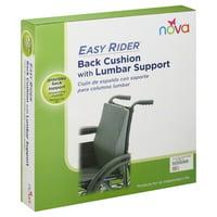 Nova Ortho Med Nova Easy Rider Back Cushion, 1 ea
