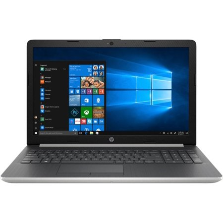 "HP 15 DB0005DX Home and Business Laptop (AMD Ryzen 5 2500U 4-Core, 8GB RAM, 128GB SATA SSD, 15.6"" Touch HD (1366x768), AMD Vega 8, Fingerprint, Wifi, Bluetooth, Webcam, 3xUSB 3.1, Win 10 Pro)"