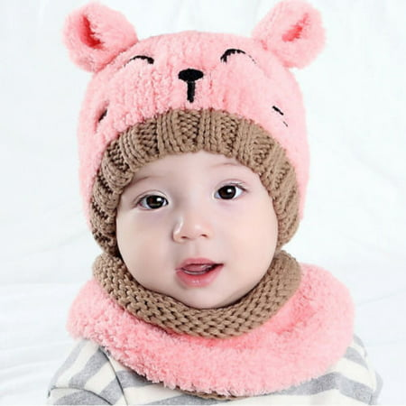 Costyle Winter Baby Toddler Girl Boy Warm Cute Beanie Beanie Hat Cap - Tam O Shanter Hat